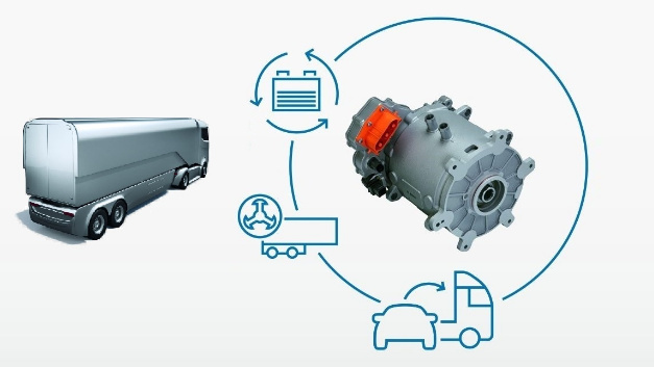 Durch die Rekuperation der Elektromotoren geht keine Energie verloren, sondern wird in einer Hochvolt-Batterie gespeichert.