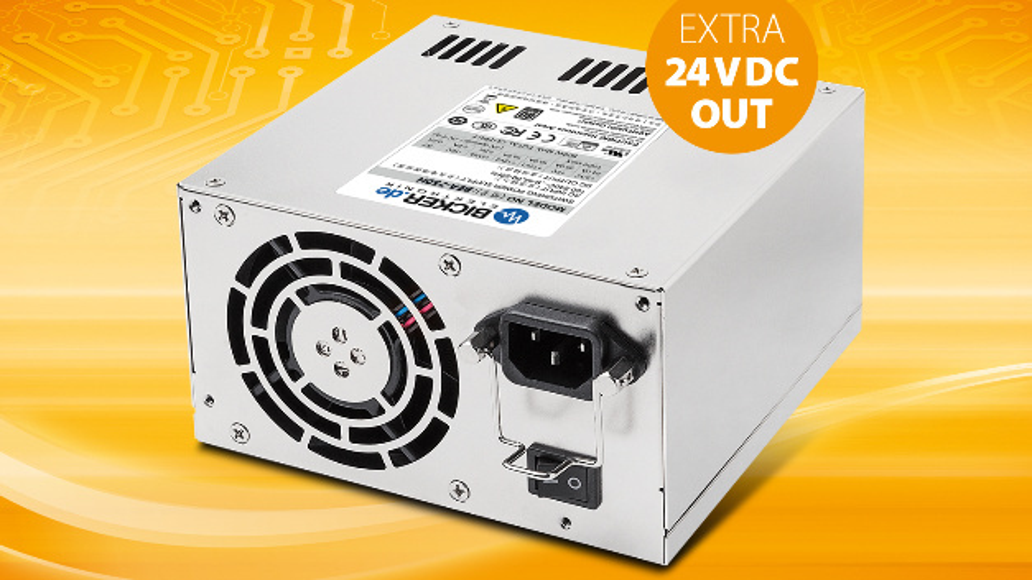 Das BEA-750H ermöglicht die Versorgung von Applikationen mit 24-V-Peripherie mit nur einem Netzteil.