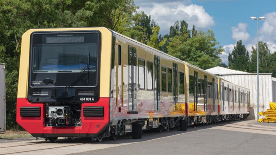 Bild 1. Die neue S-Bahn-Baureihe 484 soll ab 2021 in Berlin fahren.