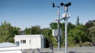 Somfy Wetterstation auf dem Dach der Palucca Hochschule für Tanz Dresden