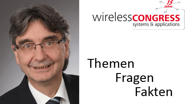 Harald Naumann leitet beim Wireless Congress 2018 das Tutorial »Antenna«