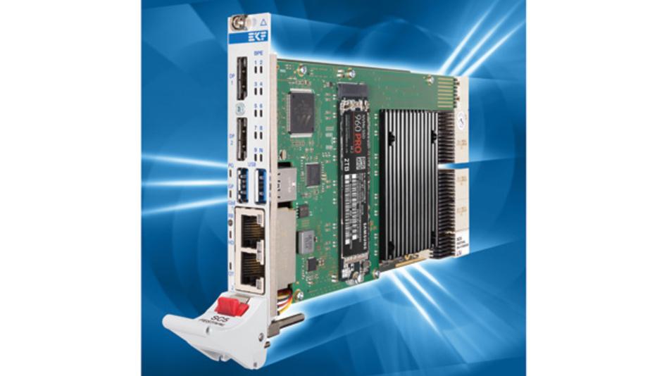 Bild 1. Das modulare Konzept der CompactPCI-Baugruppen passt sich an jede Rechenanforderung an – vom Intel-Atom-Prozessor bis zum Intel Xeon-E3.