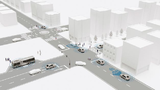 Die Forschungsinitiative @City führt Automobilhersteller, Zulieferer, Software-Entwickler und Universitäten zusammen. Untergliedert in die zwei Projekte @City und @City-AF werden Konzepte, Technologien und prototypische Anwendungen entwickelt, die da