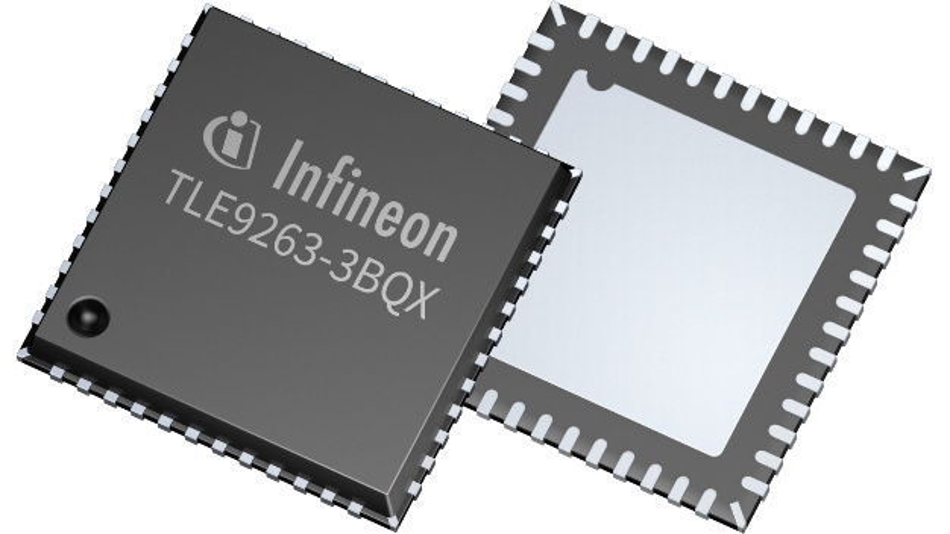 Die System Basis Chips vom Typ Mid-Range+ ermöglichen die Kommunikation mit bis zu 5 Mbit/s und verfügen über einen CAN- und bis zu zwei LIN-Transceiver.