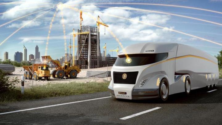 Continental hat seine digitale Reifenmonitoring-Lösung ContiConnect zu einer integrierten Plattform weiterentwickelt.