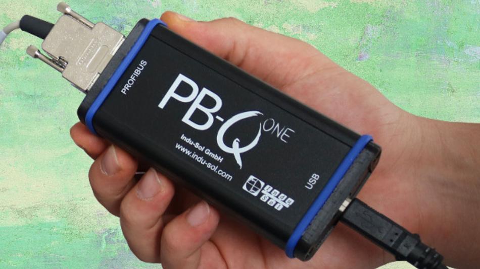 Der PB-Q One von Indu-Sol analysiert Profibus-Netzwerke vollautomatisch. Ermittelt wird u.a. die Verbindungsqualität, die Netzwerkteilnehmer und die Kabellände zwischen ihnen.