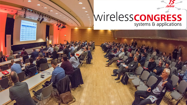 Archivaufnahme vom Wireless Congress zur Electronica 2016