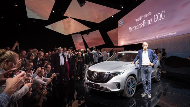 The new EQC is the first Mercedes-Benz under the product and technology brand EQ. The vehicle celebrated its World Premiere on September 4th 2018 in Stockholm.