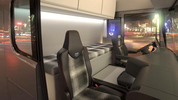 Das neue Konzept von Recaro Commercial Vehicle Seating »Seating tomorrow« greift zentrale Zukunftstreiber der Nutzfahrzeugindustrie auf.