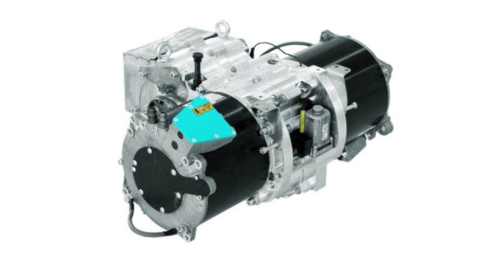 Das entwickelte 2-Gang-Getriebe von Kreisel Electric.