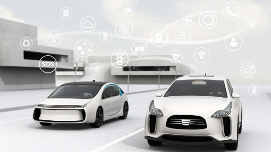Der verlässliche Informationsaustausch zwischen Fahrzeugen ist eine Grundvoraussetzung für das automatisierte und vernetzte Fahren.