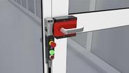 Sicherheitsschalter CTP von Euchner auf einer stabilen Riegelplatte