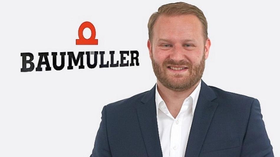 Stefan Jordan, Vertriebsleiter EMS bei Baumüller, steht seinen Kunden beratend zur Seite