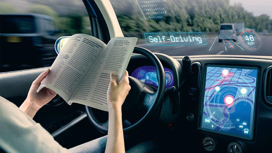 Bild 2. Ist der Fahrer nicht zur Übernahme der Fahraufgabe bereit, so werden künftig entsprechende Warnungen erforderlich sein – beispielsweise akustisch, visuell und haptisch.