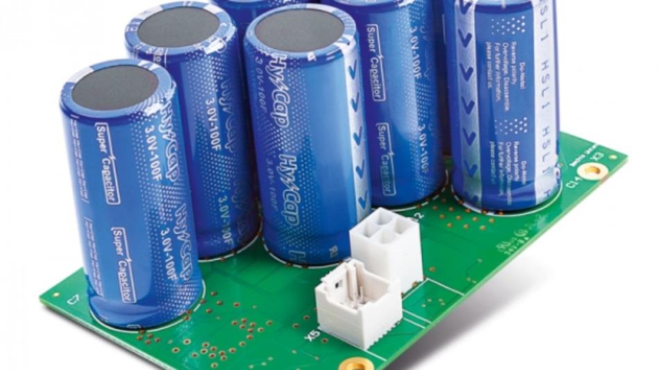 Wartungsfreier Supercap-Energiespeicher für modulares DC-USV-System