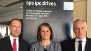 (v.l.): Christian Wolf, Sylke Schulz-Metzner und Martin Roschkowski