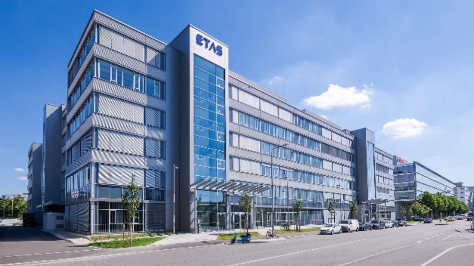 Das neue ETAS-Hauptgebäude in Stuttgart-Feuerbach.