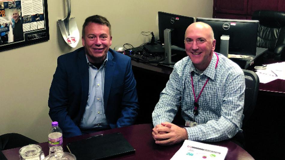 Digi-Key-CEO Dave Doherty empfing DESIGN&ELEKTRONIK-Chefredakteur Frank Riemenschneider in seinem Büro in Thief River Falls, Minnesota, USA.