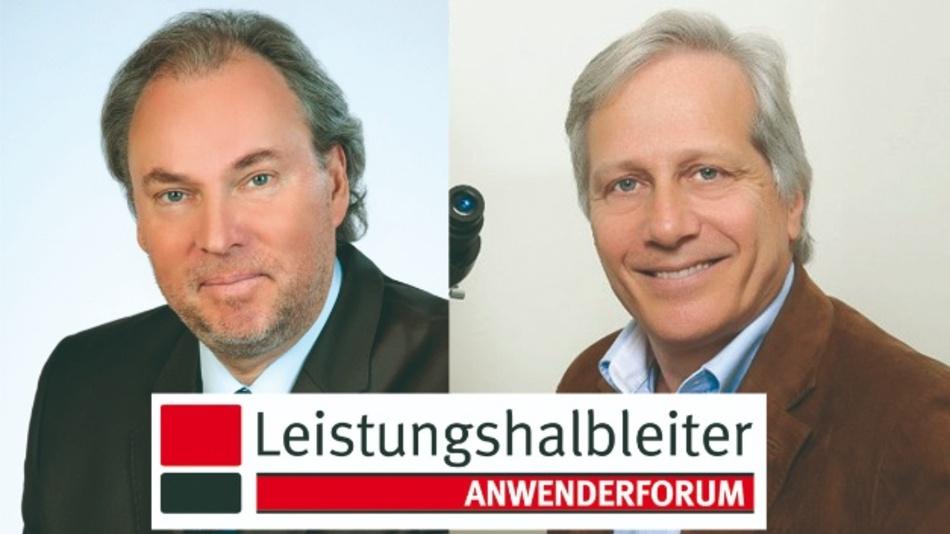 Zwei Legenden der Leistungshalbleiter-Technik als Keynote-Speaker: Dr. Gerald Deboy, Infineon Technologies, und Dr. Alex Lidow, EPC (v.l.n.r.)