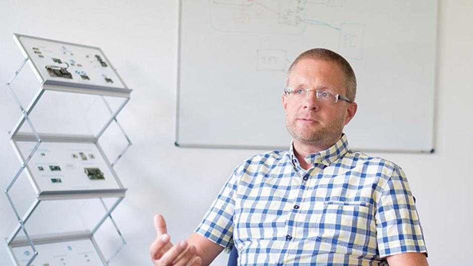 Oliver Gropp sagt: Wir wollen Bauteile nicht nur »shippen«.