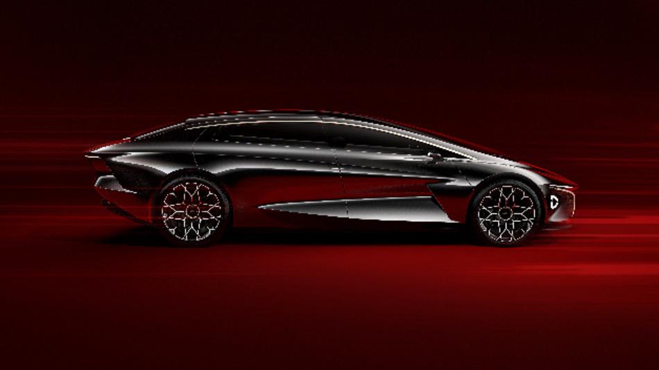 Das »Lagonda Vision Concept« wurde auf dem Genfer Automobilsalon 2018 vorgestellt.