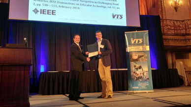 Preisverleihung IEEE VTS
