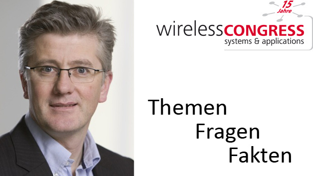Daniel Hartnett, Business Development Director DECT Forum, leitet beim Wireless Congress das Tutorial »openD""