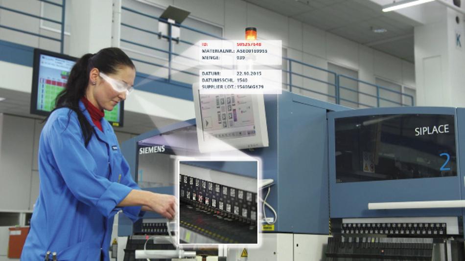 Ansteuerung und Display-Technik für industrielle Datenbrillen sind vorhanden. Das Fraunhofer FEP entwickelt u.a. mit Siemens und Ubimax konkrete Anwendungsfälle für das Umfeld Industrie 4.0.