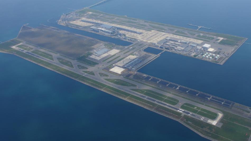 Der Kansai International Airport