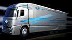 Lkw mit Brennstoffzellentechnologie