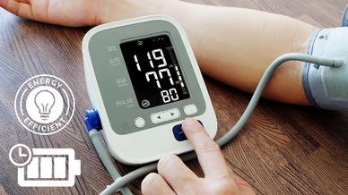 OLED kommen unter anderem in tragbaren Medizingeräten zum Einsatz