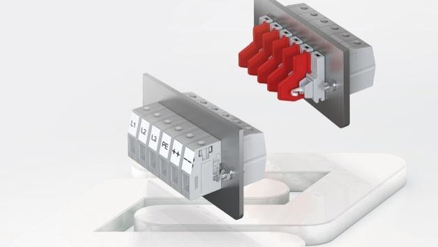 Die Durchführungsklemmen der Baureihe SDK, die Conta-Clip für Bemessungsquerschnitte von 4mm2 bis 16mm2 anbietet, sind jetzt UL-gelistet.