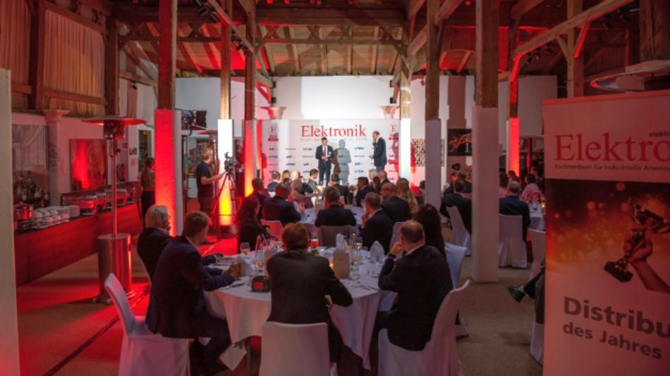 Die zum zwölften Mal stattfindende Preisverleihung zum Distributor des Jahres fand Mitte September 2018 am Gut Ising statt.