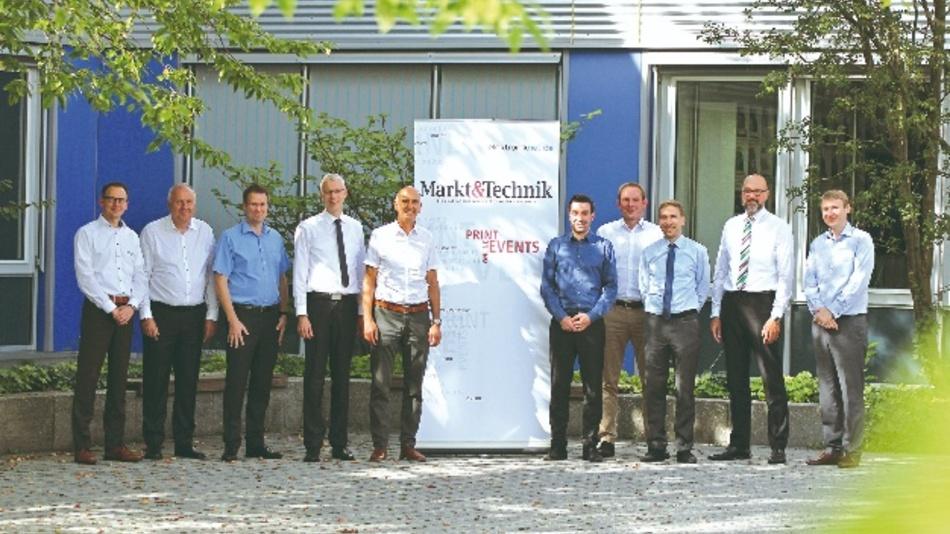 Die Teilnehmer des Markt&Technik Forums zum Thema Stromversorgungen.