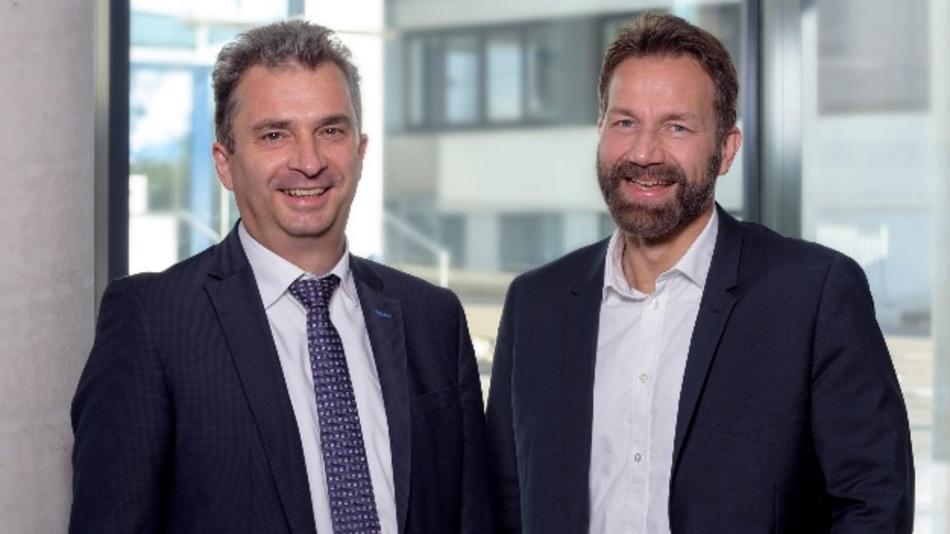 Dr. Christian Benz (links) und Dr. Kai Numssen sind im September in die Geschäftsleitung bei Telegärtner eingetreten.