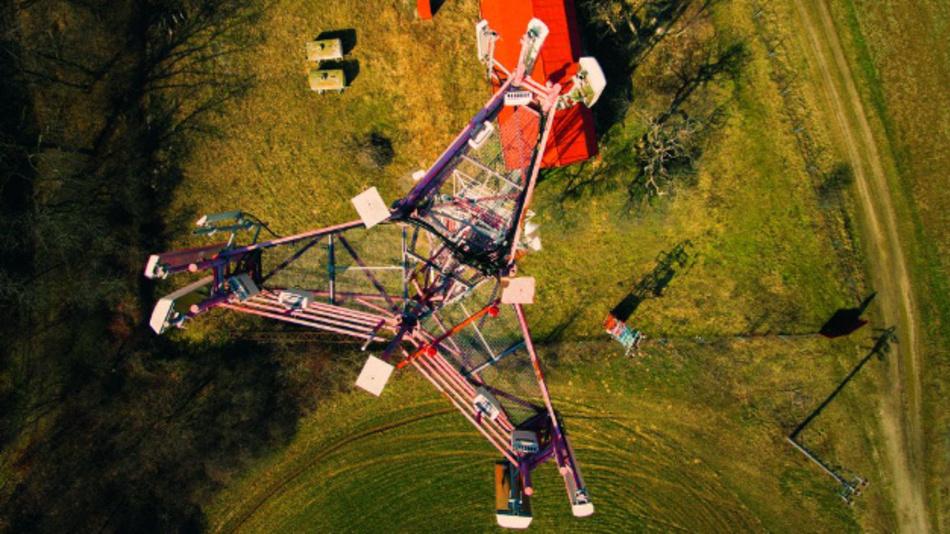 Drohnengestützte EMF-Messungen an Mobilfunk-Stationen