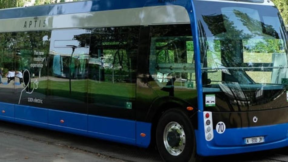 Der »Aptis« von Alstom ist eines der innovativsten Fahrzeuge auf der Innotrans 2018.