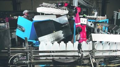 kollaborativer Roboter in unterschiedlichen Industriezweigen, Rethink