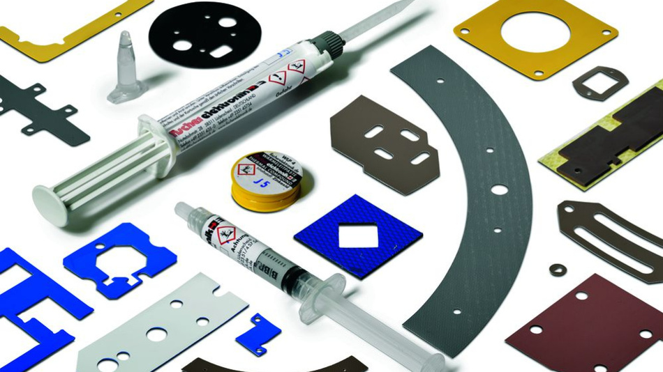 Bild 1. Verschiedenartige TIMs liefern sehr gute Möglichkeiten, elektronische Komponenten schnell und wärmetechnisch optimal auf einer Wärmesenke zu kontaktieren.