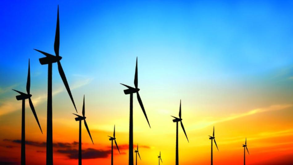Windparkanlagen erzeugen Ököstrom