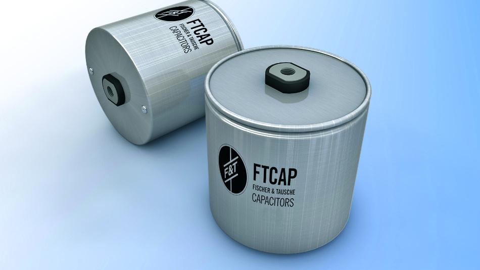 Bild 1. FTCAP hat feuchtigkeitsgeschütze Kondensatoren mit einer speziellen Verkapselung entwickelt, die sich ideal für den Einsatz in Offshore-Windkraftanlagen eignen.