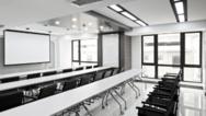 Klassenzimmer mit moderner Beleuchtung