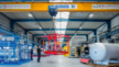 Fertigungshalle des Thermoölanlagen-Herstellers heat 11