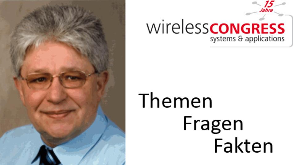 Wilhelm Oelers, CTO bei Triptec, leitet beim Wireless Congress das Tutorial »NB-IoT«