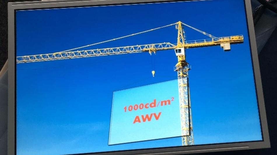 """Kyocera präsentiert neues 12,1""""-WXGA-TFT-LCD für Off-Highway-Anwendungen"""