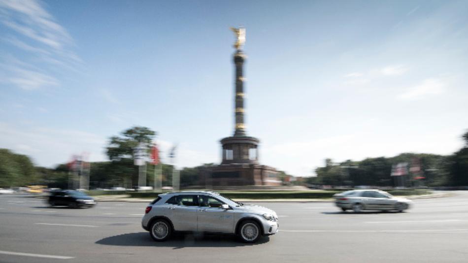 In Berlin soll der Firmensitz des Joint Ventures von BMW und Daimler entstehen.