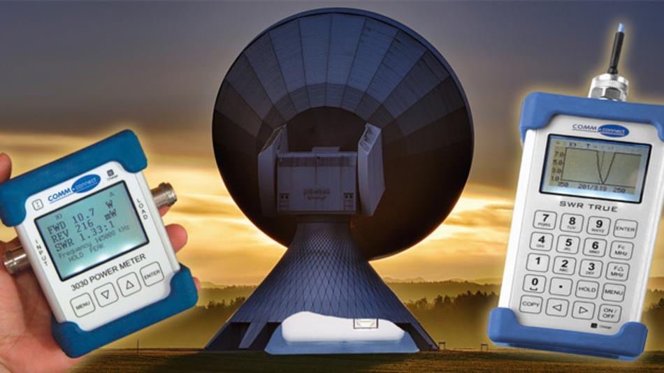 Handliche Messgeräte für Antennen und Kabel