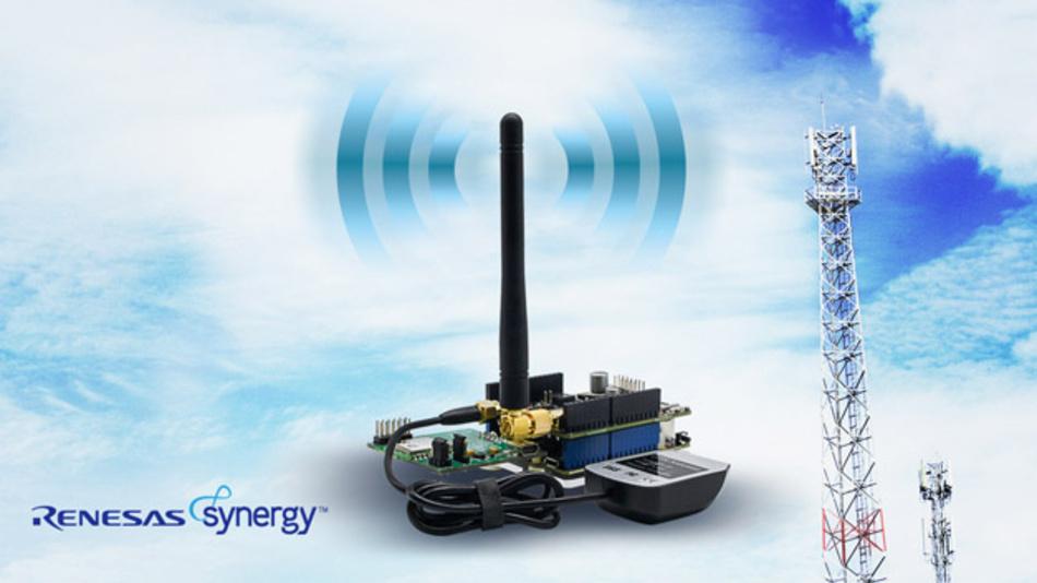 Entwicklungs-Kit für IoT incl. LTE-Modem, Sensoren und Software