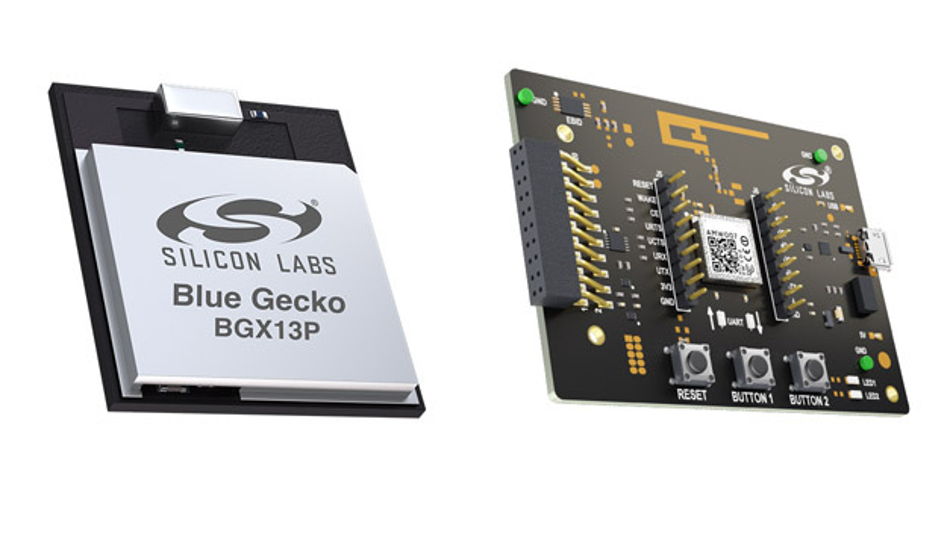 Ohne Programmieraufwand nutzen: Bluetooth-Funkmodul der neuen Xpress-Reihe und dazugehörendes Entwicklungsmodul (rechts).
