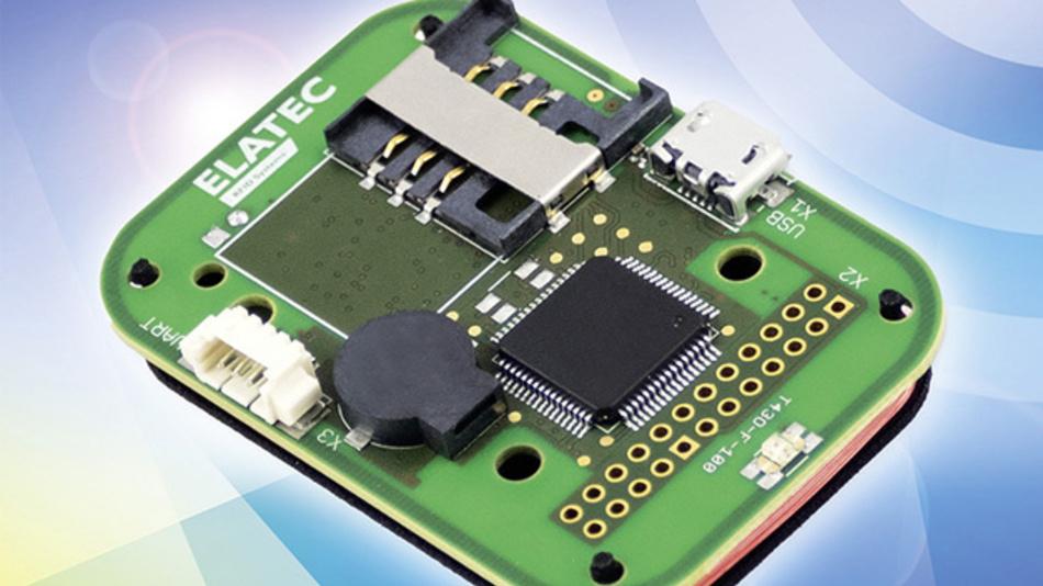 Multiband-RFID-Schreib-/Lesegerät mit NFC und BLE